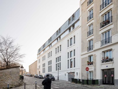 R sidence h teli re montmartre paris 18 me lacoudre for Residence appart hotel paris